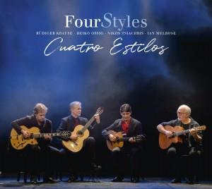 Cover FourStyles - Cuatro Estilos